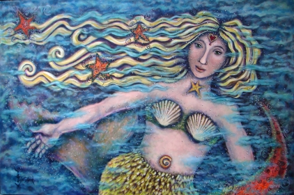 "The ""Mermaid Muse"" explores the Mystery of Water."