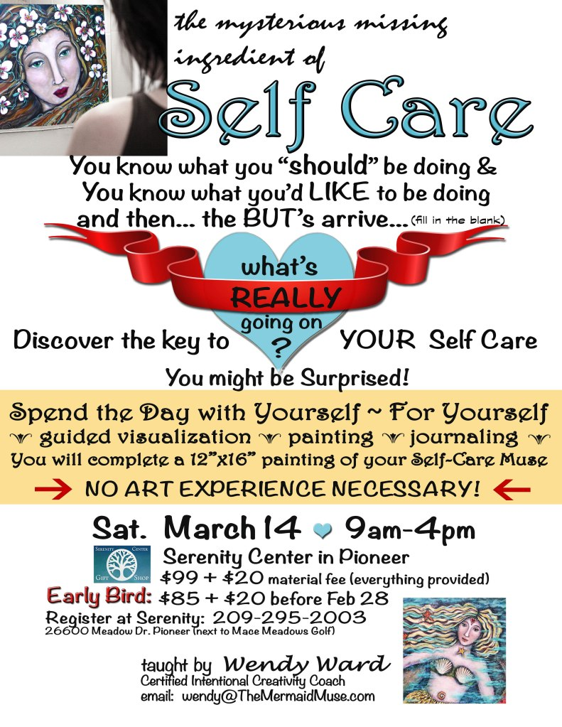 Self Care Flyer