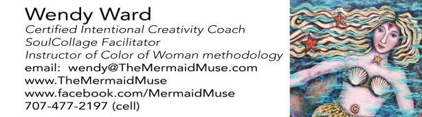 Mermaid Muse Calling Card