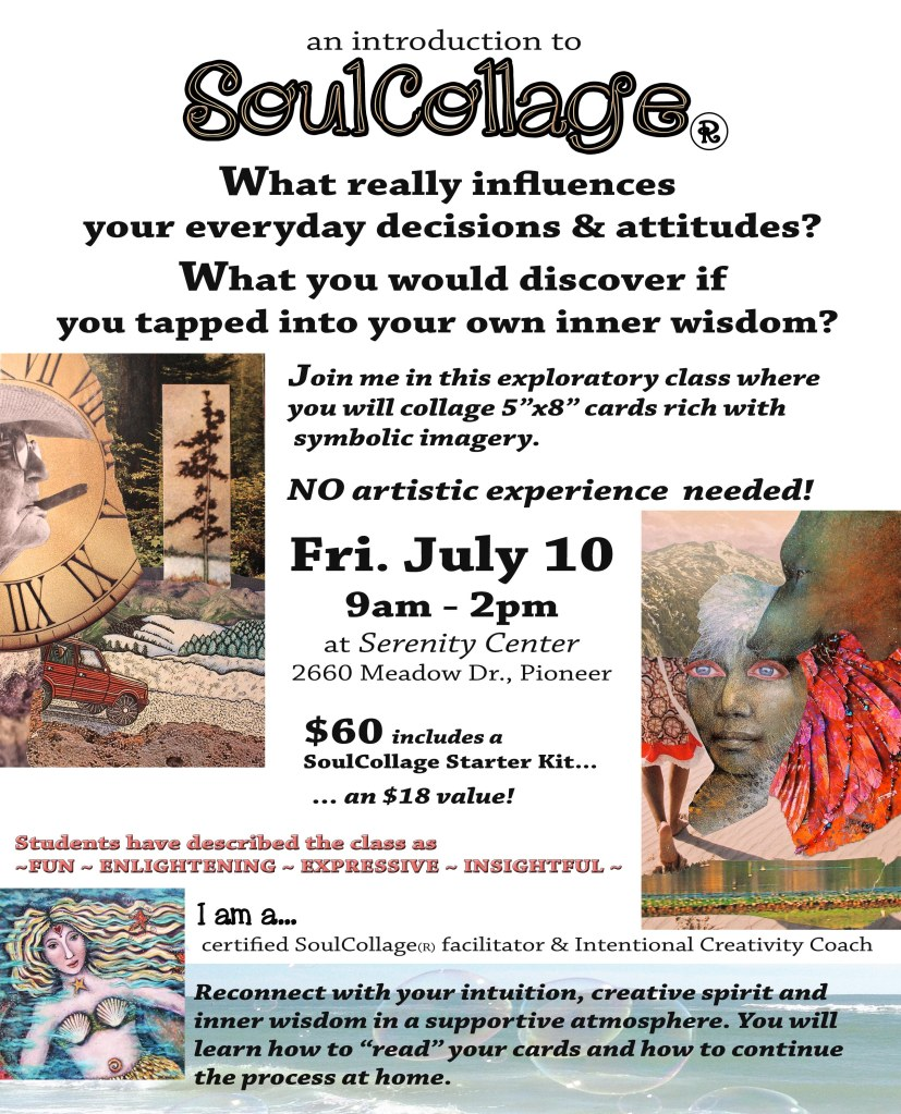 SoulCollage Flyer WEBSITE version