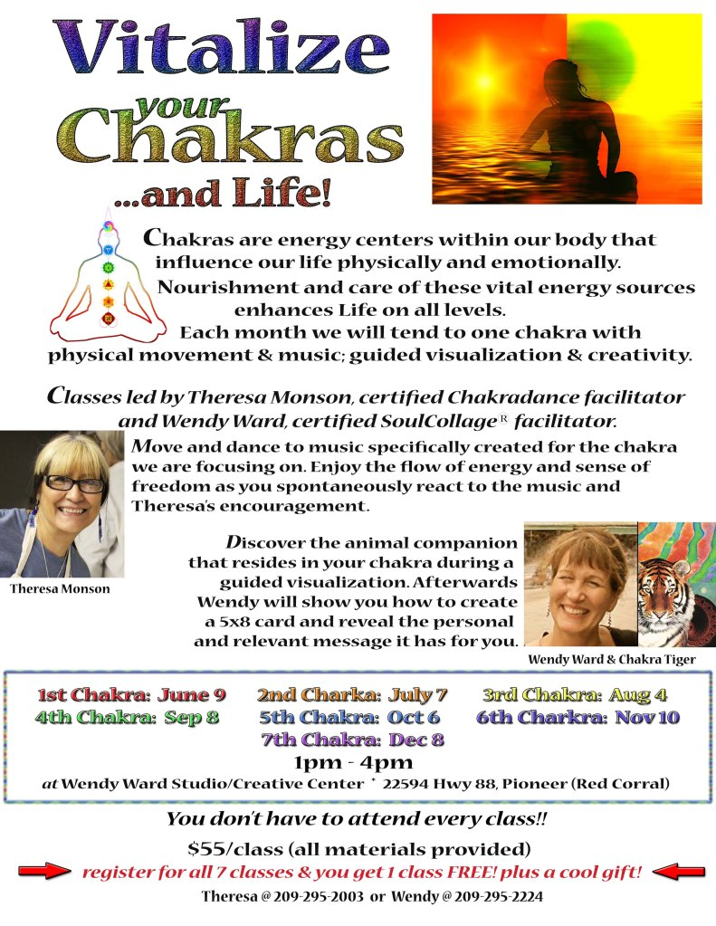 Chakradance SoulColage flyer WEBSITE version