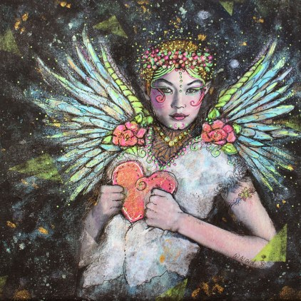 """Winter Faerie"" asks you to always consider your Heart."